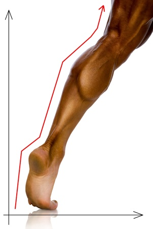 knees bent: Study schedule achievement athletes foot.