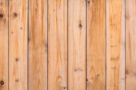 woody: Background wall texture of light wood planks. Empty ad space