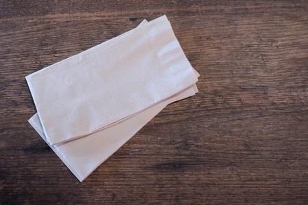 handkerchief: handkerchief on the table Stock Photo