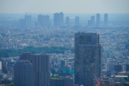 Urban landscape from the Roppongi Hills Observation Deck