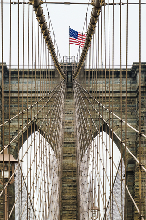 Brooklyn Bridge (New York, USA) Imagens
