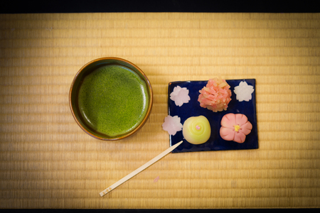 Japanese and sweets image Banco de Imagens