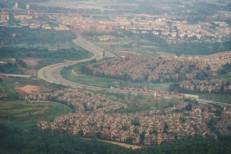 Chengdu, China skyline