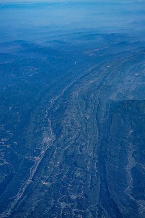 China's mountainous area image (around Chengdu) 版權商用圖片 - 111522813
