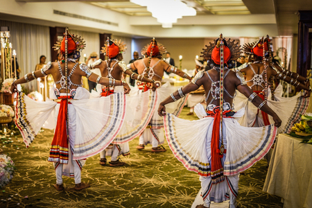 Dance of Sri Lanka wedding
