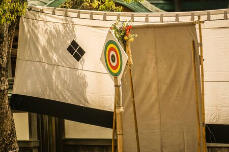 Target of horseback archery