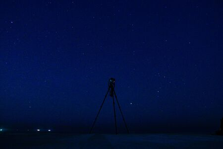 Camera for photographing a starry sky