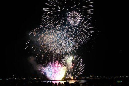 Yokohama Minato Mirai of fireworks 2019 Stockfoto