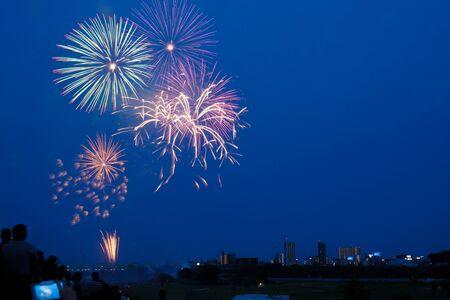 Kawaguchi fireworks display of fireworks (2019)
