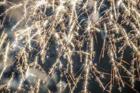 Yokohama Minato Mirai of fireworks 2019 Stock Photo