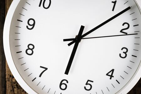 Image of simple wall clock