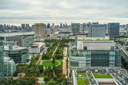 テレコムセンターから見た東京のスカイライン