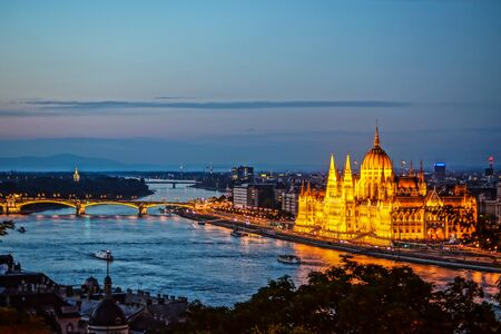 Hungary (from the fort of Budapest fishermen) 写真素材