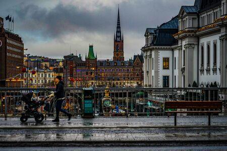 Cityscape of Stockholm , Sweden