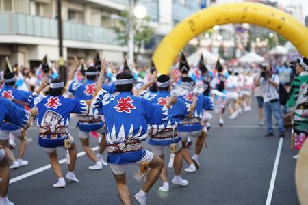 Image of Koenji Awa dance 報道画像