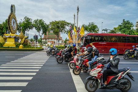 Streets of Thailand Bangkok center