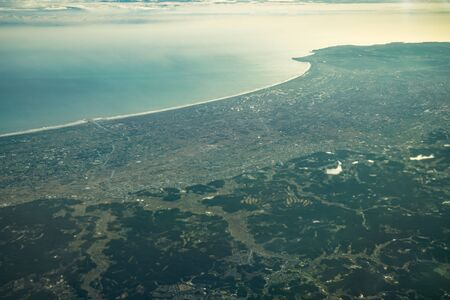 Japanese archipelago Aerial view of (Chiba Prefecture)