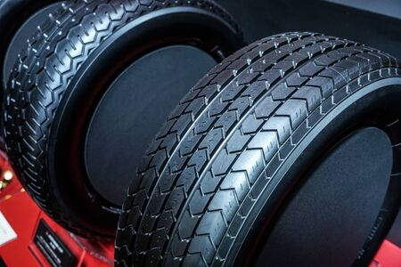 Image of a stylish car tire