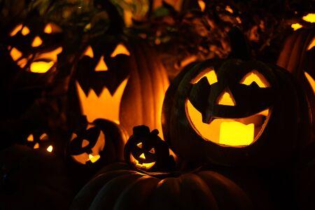 Bild der Halloween-Klinkenlaterne