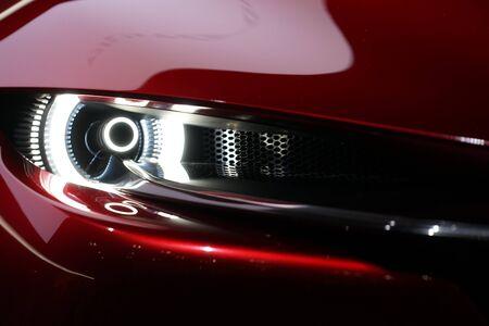 Image of cool car headlight Stock Photo