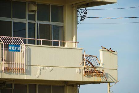 Sendai Arahama elementary school (the Great East Japan Earthquake Earthquake remains of)