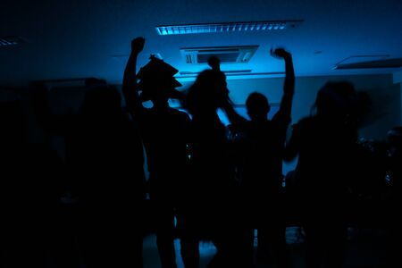 Of the party live in the night club image