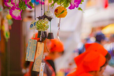 Summer of wind chimes (Japanese culture)