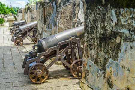 Monte fort of cannon (Macau Special Administrative Region)