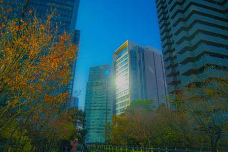 Skyscrapers image of Roppongi 1-chome 免版税图像