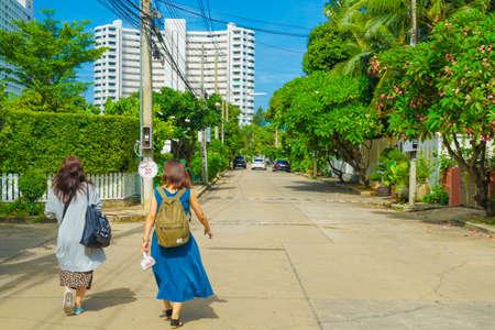 Kingdom of Thailand sputtering yer beach resort Фото со стока