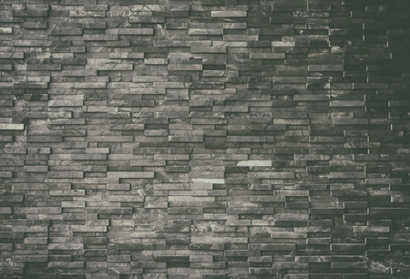 Slate wall texture and background, old vintage Stock Photo