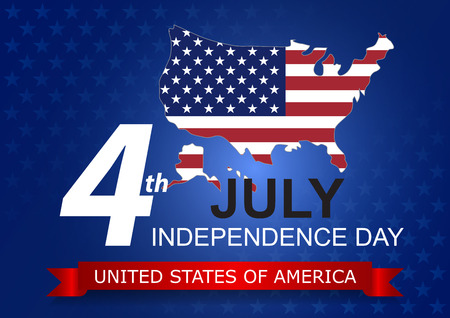stated: 4th of July, Independence Day, United Stated of America.