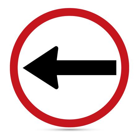 turn left sign: Traffic Sign, Turn Left sign.