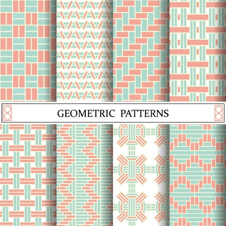 geometric pastel pattern, weave pattern style for background webpage and texture surface