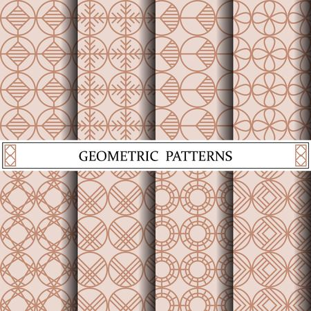 circle geometric vector pattern,pattern fills, web page, background, surface and textures