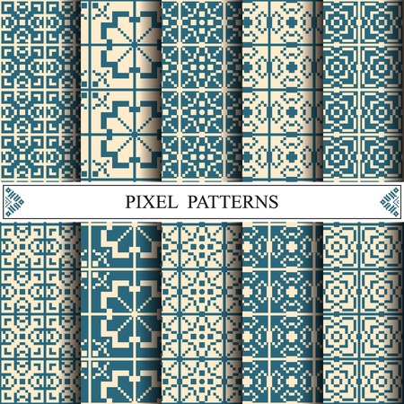 pixel pattern, textile, pattern fills, web page background, surface textures