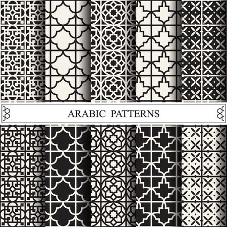 arabic vector pattern,pattern fills, web page background,surface textures