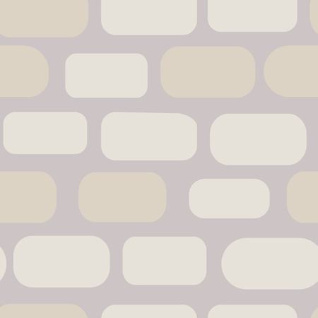 Gentle pastel shades of gray color rocky wall seamless pattern.