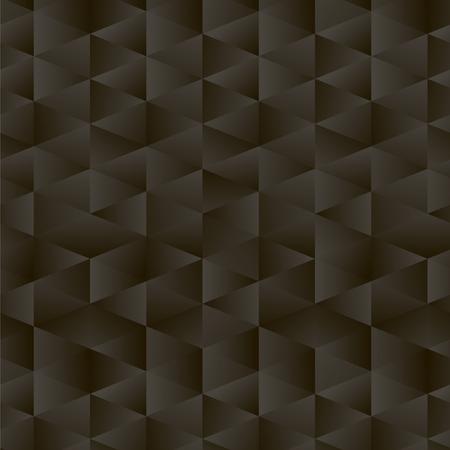 black cold gradient triangle pattern vector pattern corners geometric glass low-key shine background