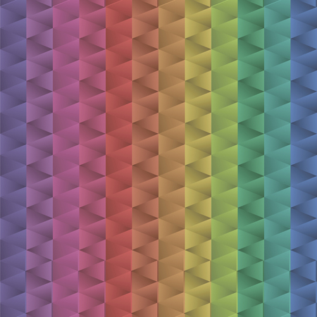 iridescent multicolored gradient bright positive mechanics triangle pattern colors vector pattern corners geometric glass glitter background