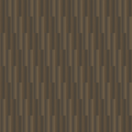 Brown floor coverings from wood flooring linoleum work table logs boards vertical stripes vector seamless dark pattern. Illusztráció