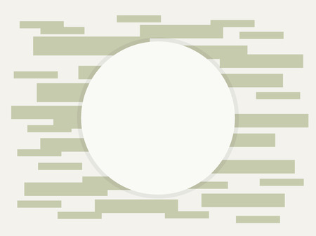 composition of rectangles of gray hue bricks electronics technology transistors electronics wreath round area for writing with shadow on a light beige background