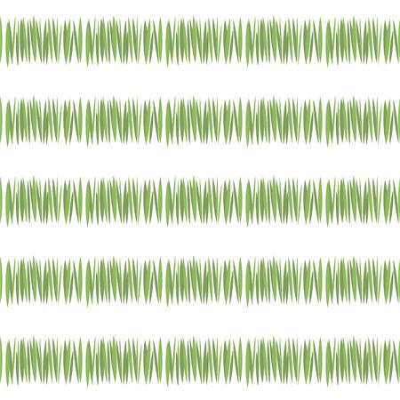 grüne einfache grüne Grasstreifen Grußkartenfrische-Tee-Vegetation lokalisiert auf weißem Hintergrundmuster