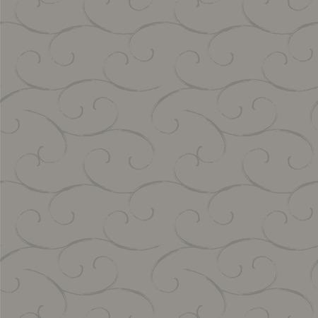 grijze donkere koude rustige zachte naadloze achtergrond van armoedige spiralen kleur vector