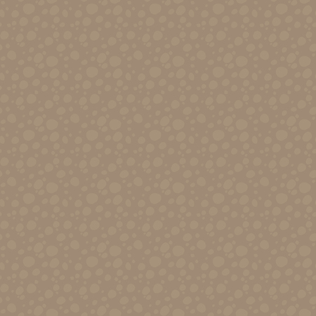 Brown two-tone cut of soil under the earth pattern with round stones, hollow or wooden seamless vector pattern. Иллюстрация