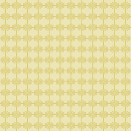 Yellow background squares abstract golden cloth pattern seamless vector pattern. Иллюстрация