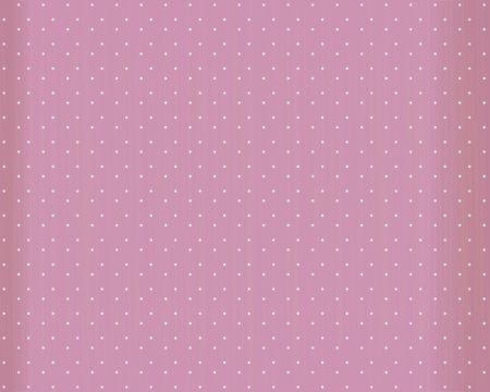 Pink vector background with white round dots, scuffles and edges in the shade. Ilustração