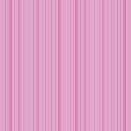 Seamless pink saturated light striped vector retro pattern with small white circles. Ilustração