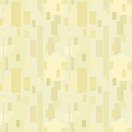 Yellow seamless vector pattern of vertical rectangles of different sizes and different shades of color.