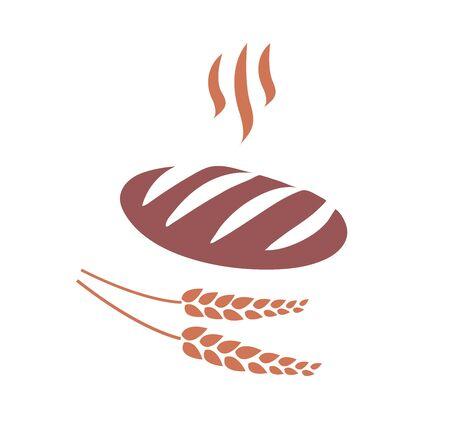 Bread icon vector illustration Stock Illustratie